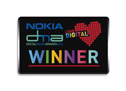 Digital Media Award Winner 2012